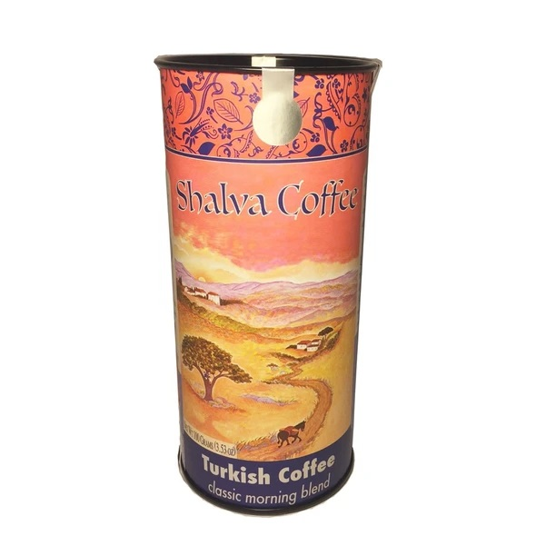 קפה שלווה, תערובת בוקר (טחון טורקית)