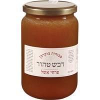 דבש לא מחומם מפרחי אשל - 1קג - צנצנת זכוכית