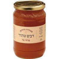 דבש לא מחומם מפרחי בר - 1קג - צנצנת זכוכית